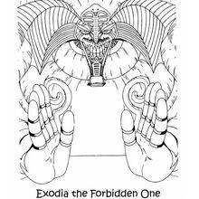 Exodia 2 zum Ausmalen