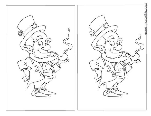 Printable Coloring Pages For St Patrick S Day