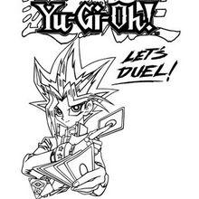 Lass uns kämpfen Yu-Gi-Oh zum Ausmalen