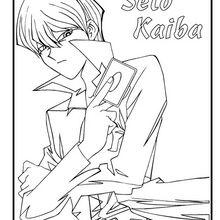 Seto Kaiba zum Ausmalen