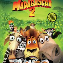 MADAGASCAR 2 zum Ausmalen