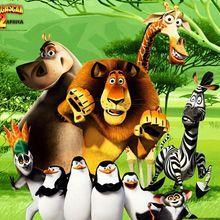 MADAGASCAR zum Ausdrucken