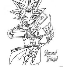 Yami Yugizum Ausmalen