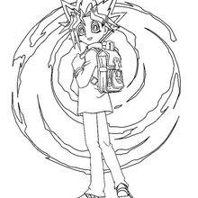 Yu-Gi-Oh 2 zum Ausmalen