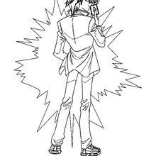 Yu-Gi-Oh 3 zum Ausmalen