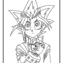 Yu-Gi-Oh 4 zum Ausmalen