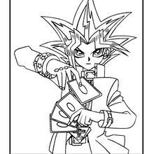 Yu-Gi-Oh 6 zum Ausmalen