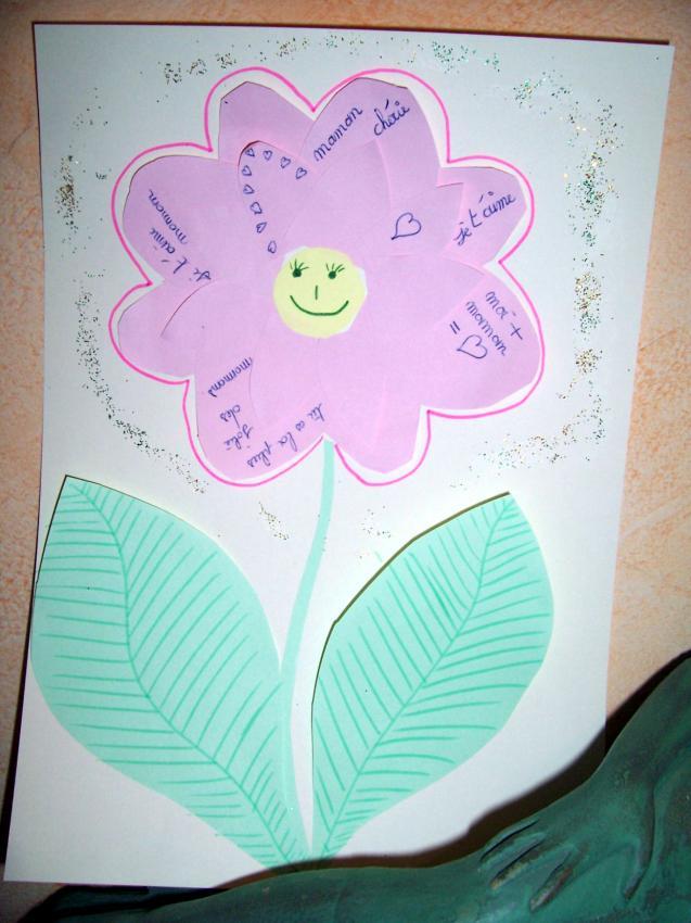 La fleur poème