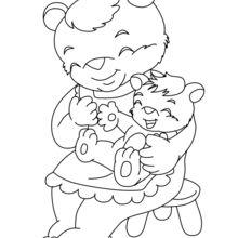 Mama Bär und Baby