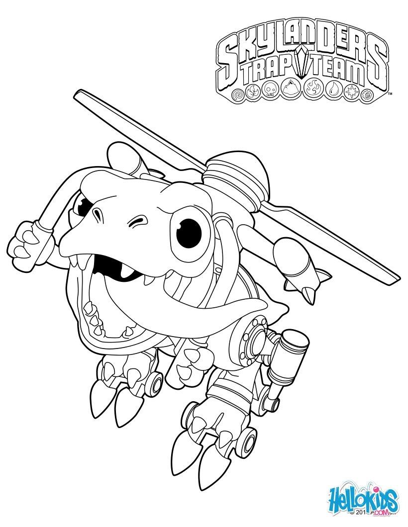 Chopper zum ausmalen - de.hellokids.com