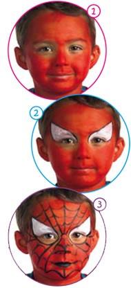 Kinderschminken Spiderman