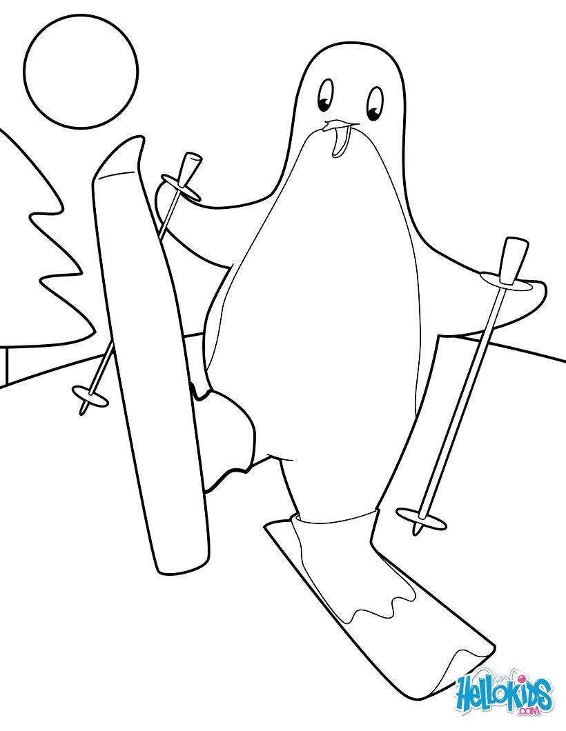 Pinguin : Ausmalbilder, Kostenlose Spiele, Basteln, Bilder für ...