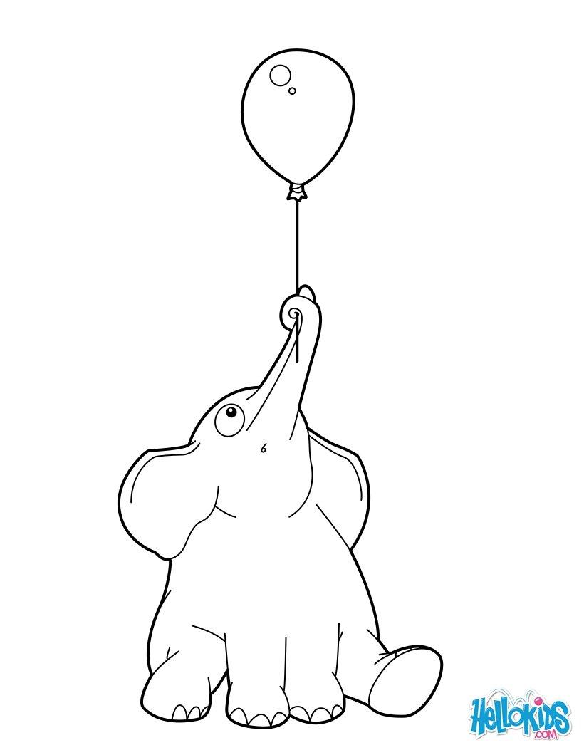 Elefant : Ausmalbilder, Bilder für Kinder, Kostenlose Spiele, Lesen ...