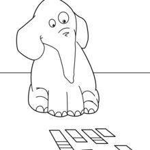 Elephant Spielen mit Karte