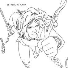 Tarzan mit Lianen