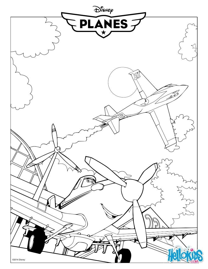 Dusty aus planes zum ausmalen - Plane coloriage ...