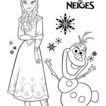 Anna und Olaf - Die Eiskönigin
