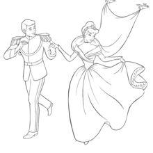 Aschenputtel und ihr Prinz