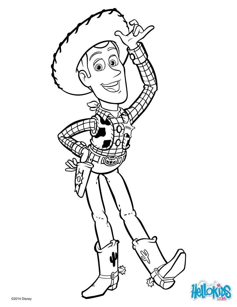 Cowboy woody von toy story
