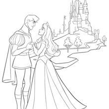 Dornröschen, Aurora und ihr Prinz