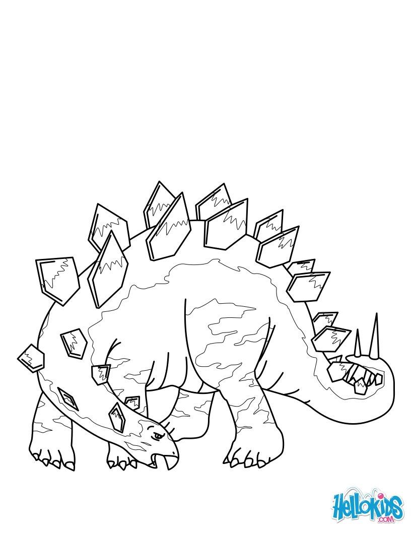 Ausmalbilder Für Kinder Dinosaurier