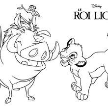 Simba, Timon und Pumbaa