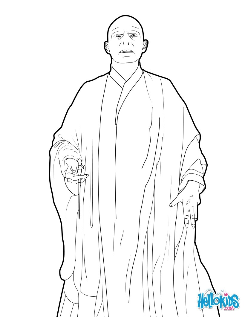 Voldemort zum ausmalen zum ausmalen  dehellokidscom