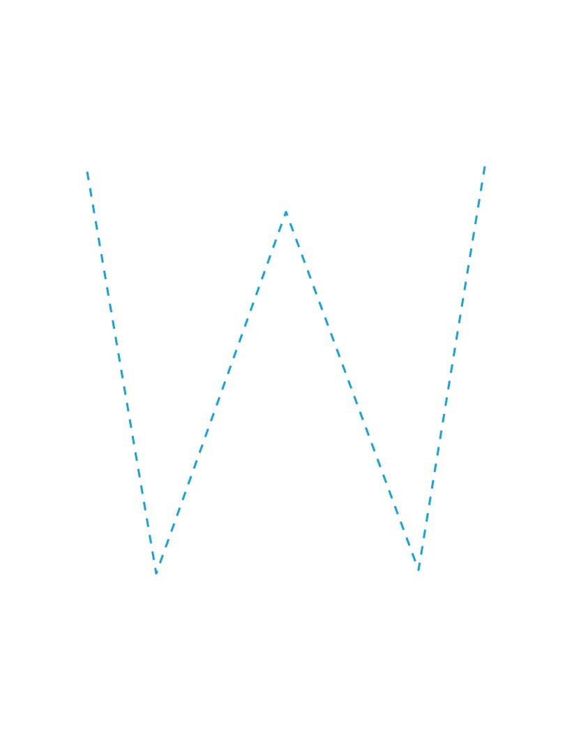 Der Buchstabe W