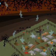 Geister Friedhof