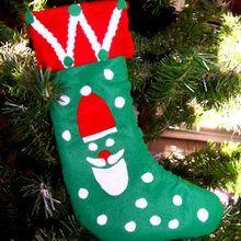 Santa Weihnachtsstrumpf
