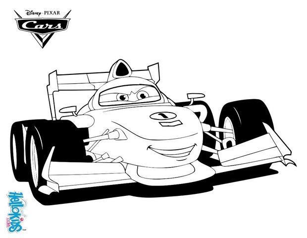 Francesco Bernoulli Cars 2 Zum Ausmalen Dehellokidscom