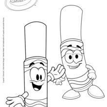 Crayola Marker glücklich