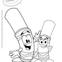 Filz und Filz Mini Crayol