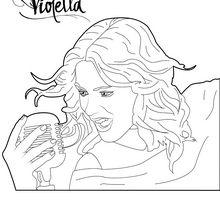 Violetta, die singt