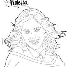 Violetta macht einen shooting Foto