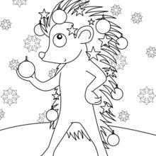 Hedgehog für Weihnachten