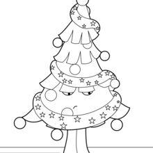 Weihnachtsbaum unglücklich