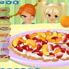 Mach eine Früchtepizza