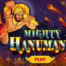 Mächtiger Hanuman