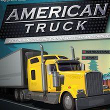 Amerikanischer Lastwagen
