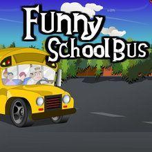 Lustiger Schulbus