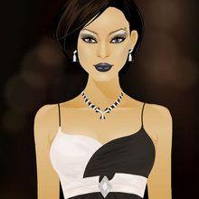 Glam Gal Gina: Schwarz & Weiß