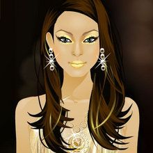 Glam Gal Gina: Goldglitter