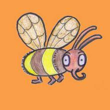 Wie man eine Biene malt