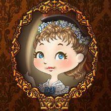 Viktorianisches Mädchen, werf dich in Schale