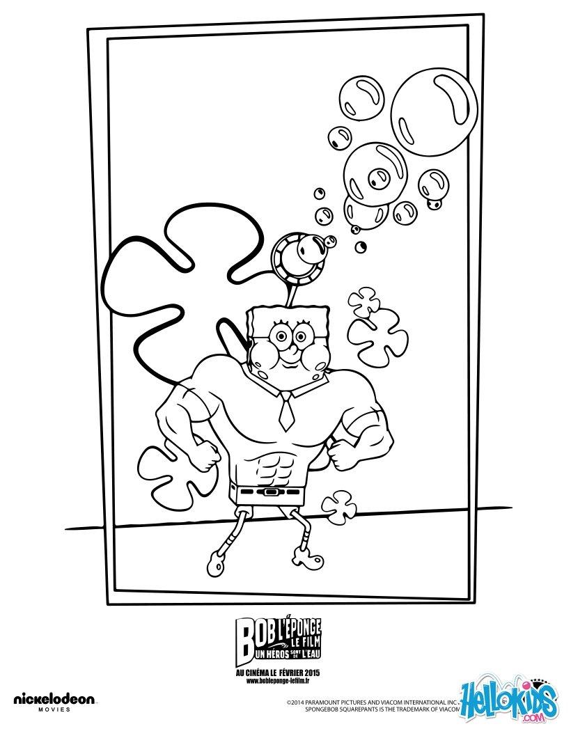 Spongebob zum ausmalen - de.hellokids.com