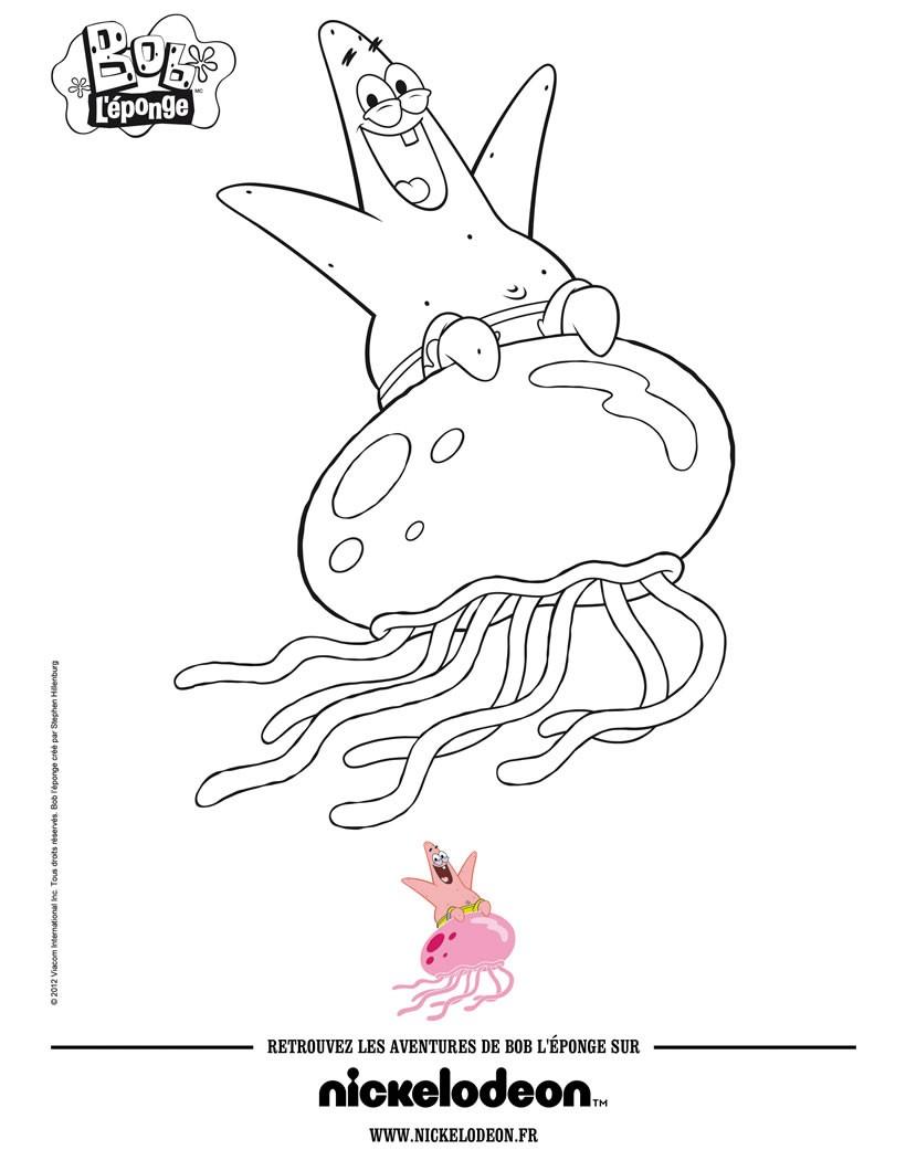 Monsieur krabs zum ausmalen - de.hellokids.com