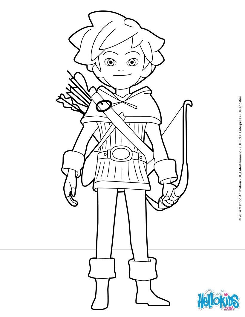 Ausmalbilder Robin Hood Ausmalbilder