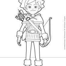 Robin Hood Ausmalbilder Ausmalbilder Ausdrucken De Hellokids Com