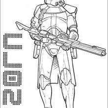 Bewaffneter imperischer Klonsoldat
